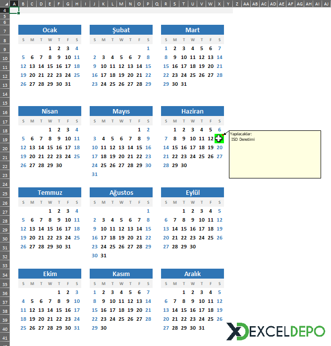 Calendar Outlook to Excel