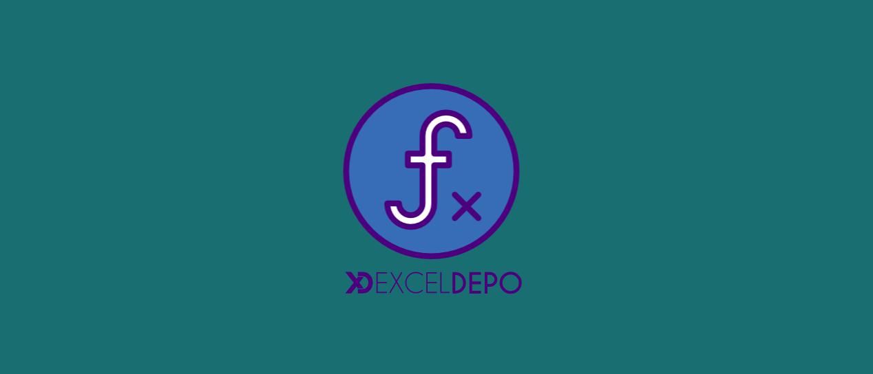 Excel formüllerindeki çift tire işaretleri