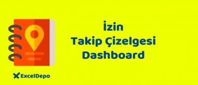 İzin Takip Çizelgesi Dashboard