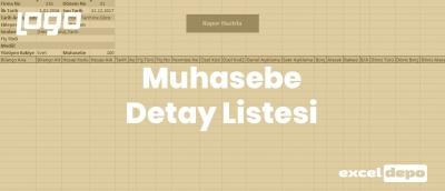 Muhasebe Detay Listesi