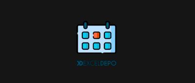 Excel Takvim Şablonu